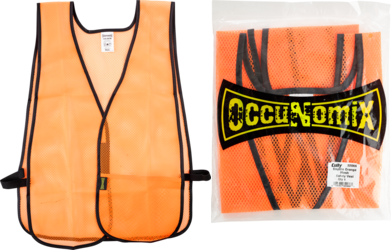 CUL 32066 ORG MESH SAFETY VEST