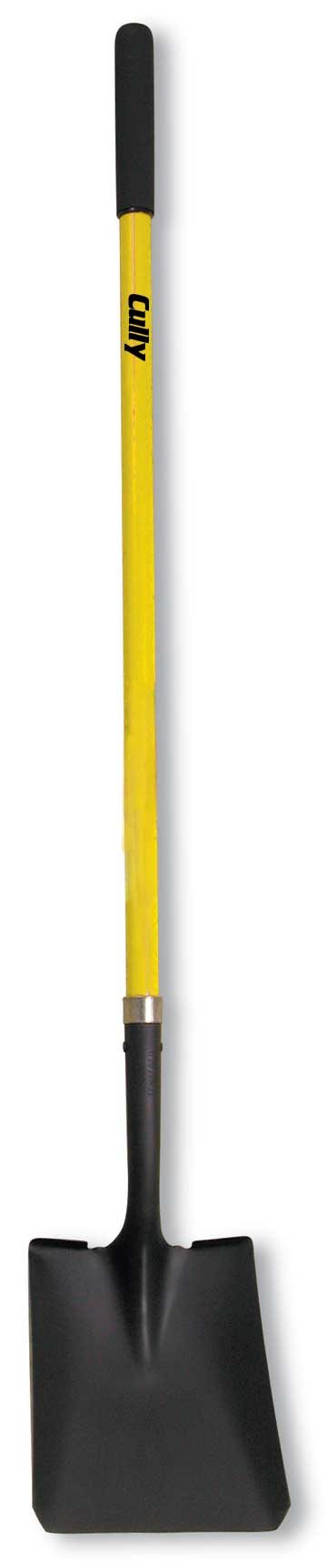CULLY 37253 #2 Square Point ShovelYellow