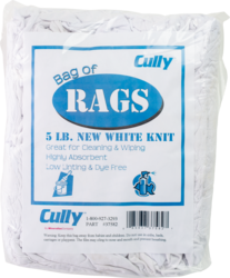 CULLY 37582 5 LB Box of Rags