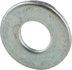 Minerallac 40345J 5/8 Inch Zinc Plated Steel Flat Cut Washer