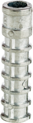 "Cully 60612J 3/8"" x 2-1/2"" L Lag Screw Shield, Zinc"
