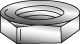 Minerallac 70140J 1/2-13 Inch 18-8 Stainless Steel Hex Nut
