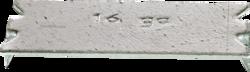 MINR 90100 1-1/2 x 3 Nail Plate,16ga (100/Box)