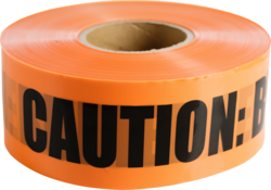 "CULLY 94618 Orange ""Buried FiberOptic Telephone"" Tape, 6"" x 1000'"