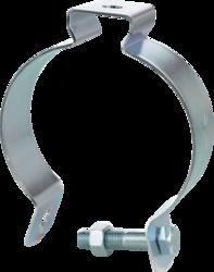 """Minerallac 9-B 4"""" Conduit Hanger - Steel / Zinc Plated"""