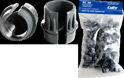 """CULLY RC50 1/2"""" Non-Metallic RomexConnector (100/Bag)"""