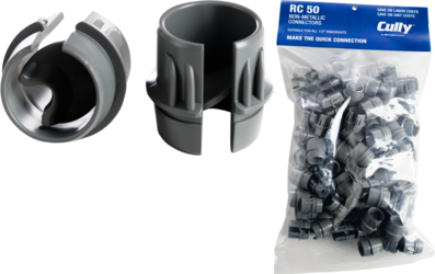 "CULLY RC75 3/4"" Non-Metallic RomexConnector (50/Bag)**REPLACED BY RCR75**"